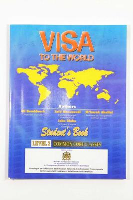 VISA TO THE WORLD STUDENTS BOOK